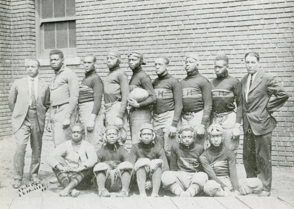 Lincoln High School Football Team of 1917.