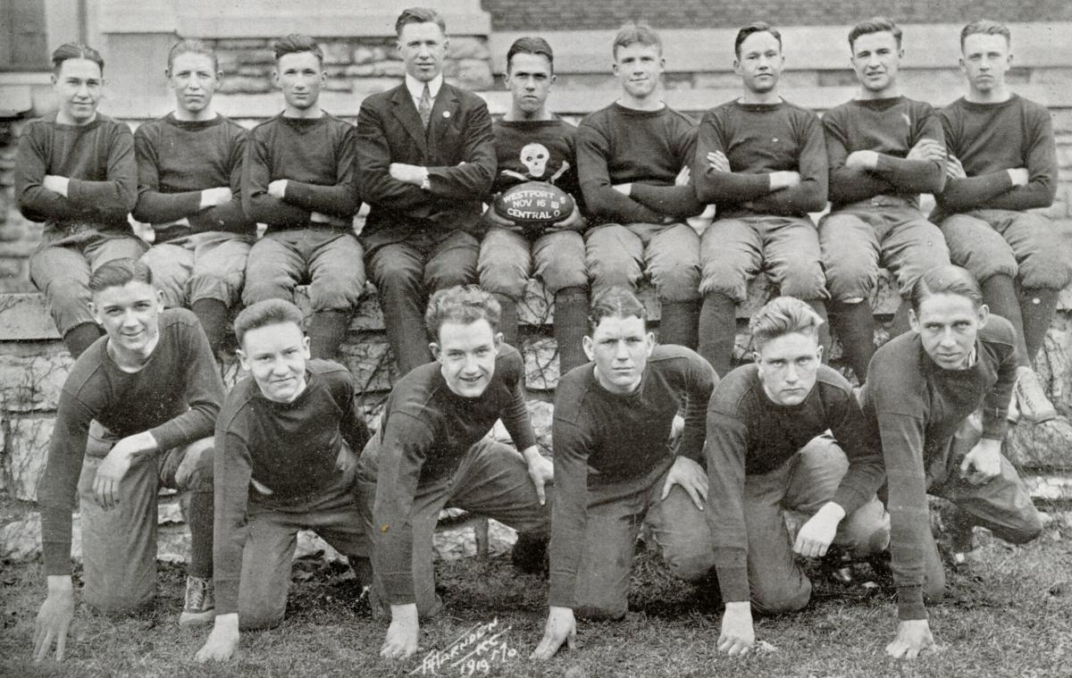 Championship Westport High School Football Team of 1919