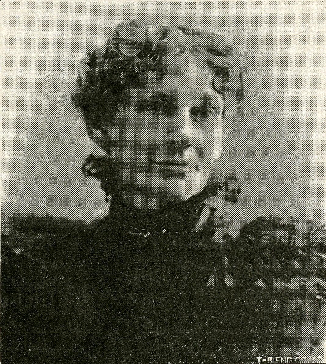 Carrie Westlake Whitney, 1898