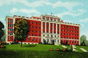 Postcard of St. Luke's Hospital, Kansas City, MO
