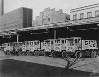 Delivery Trucks, City Ice Company