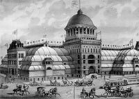 Drawing of Exposition Building