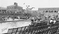 Swimming Meet at Swope Park Pool