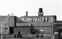 William Volker Building Sign